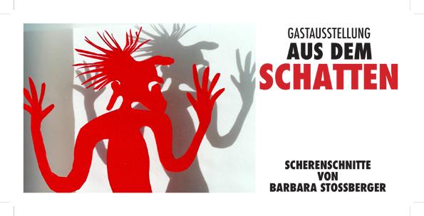 Scherenschnitte der Künstlerin Barbara Stossberger