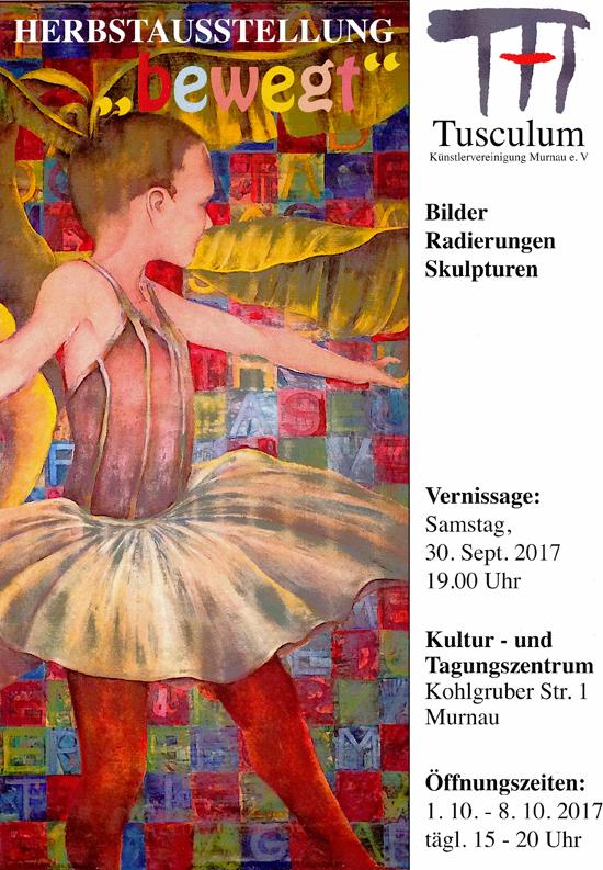 Herbstausstellung der Künstler des Ateiliers Tusculum