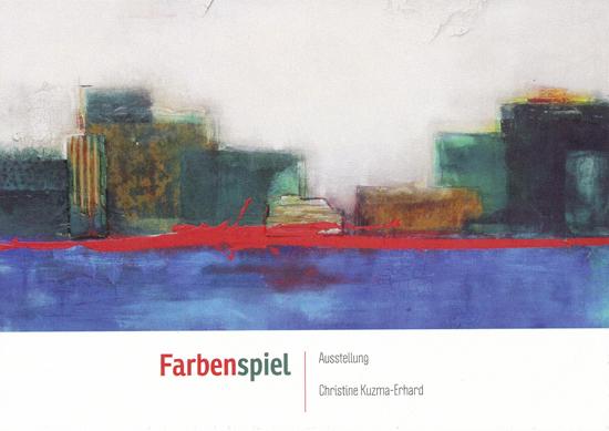 Ausstellung der Künstlerin Kuzma-Erhard
