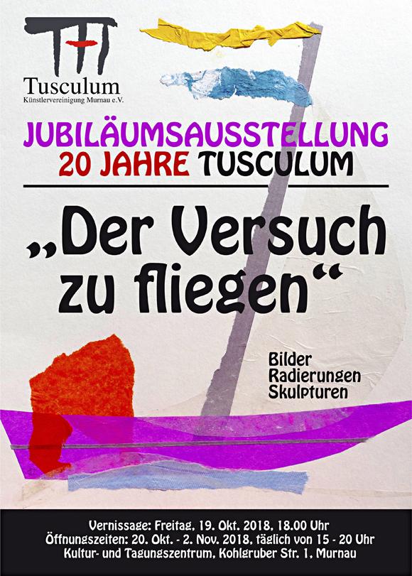 Jubiläumsausstellung der Künstler des Ateliers Tusculum