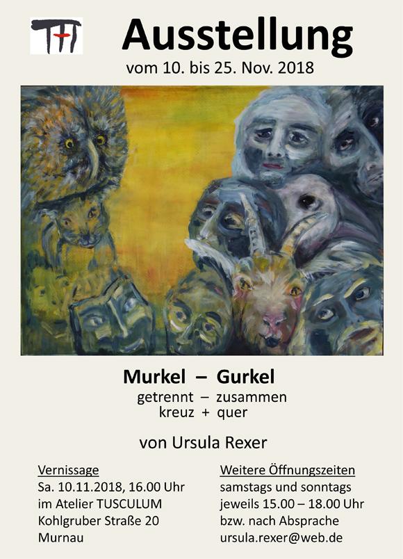 Ausstellung der Künstlerin Ursel Rexer