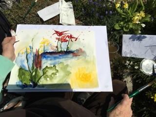 Anleitung zur Aquarellmalerei