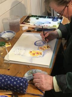 Aquarelle: Techniken erlernen