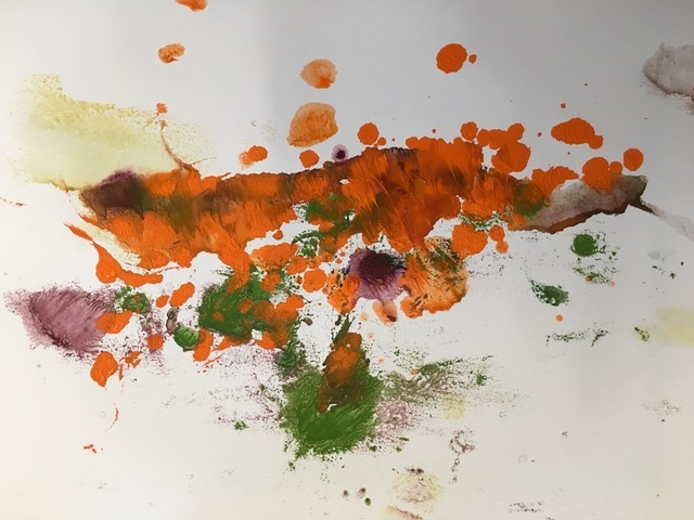 Malen mit Pigmenten