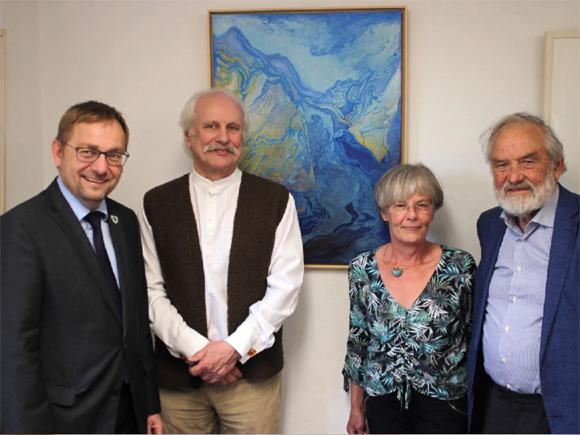 Vortrag von Greta Rief beim euroArt General Meeting in Norwegen 2018